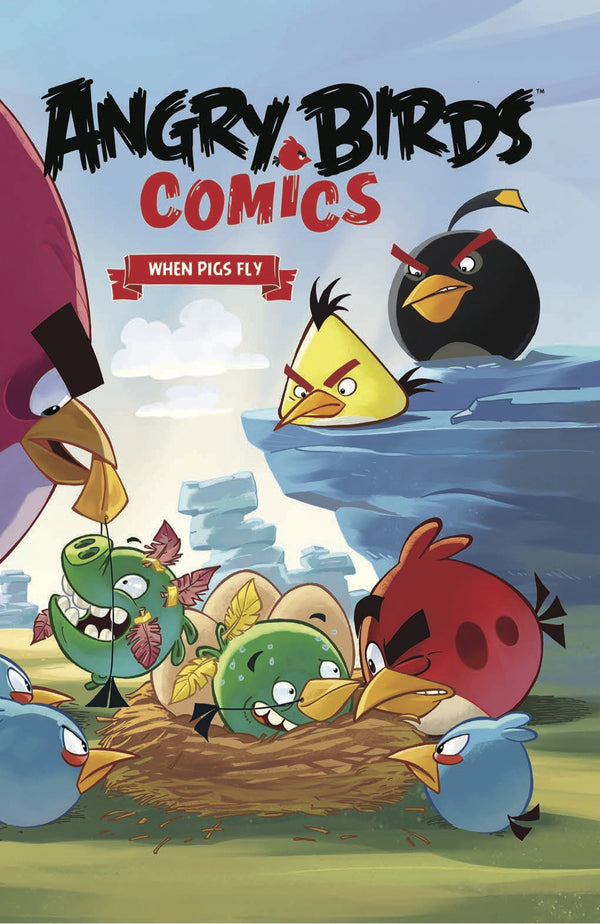 ANGRY BIRDS COMICS HC VOL 02 WHEN PIGS FLY