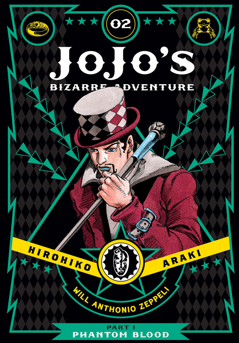 JOJOS BIZARRE ADV PHANTOM BLOOD HC VOL 02 (C: 1-0-0)
