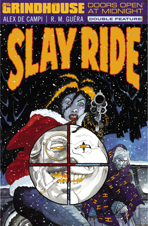 GRINDHOUSE MIDNIGHT TP VOL 03 SLAY RIDE & BLOOD LAGOON (MR)
