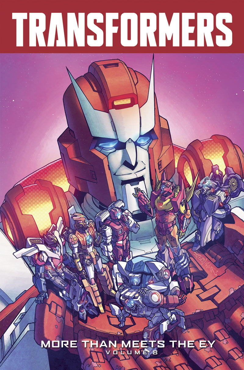 TRANSFORMERS MORE THAN MEETS THE EYE TP VOL 08