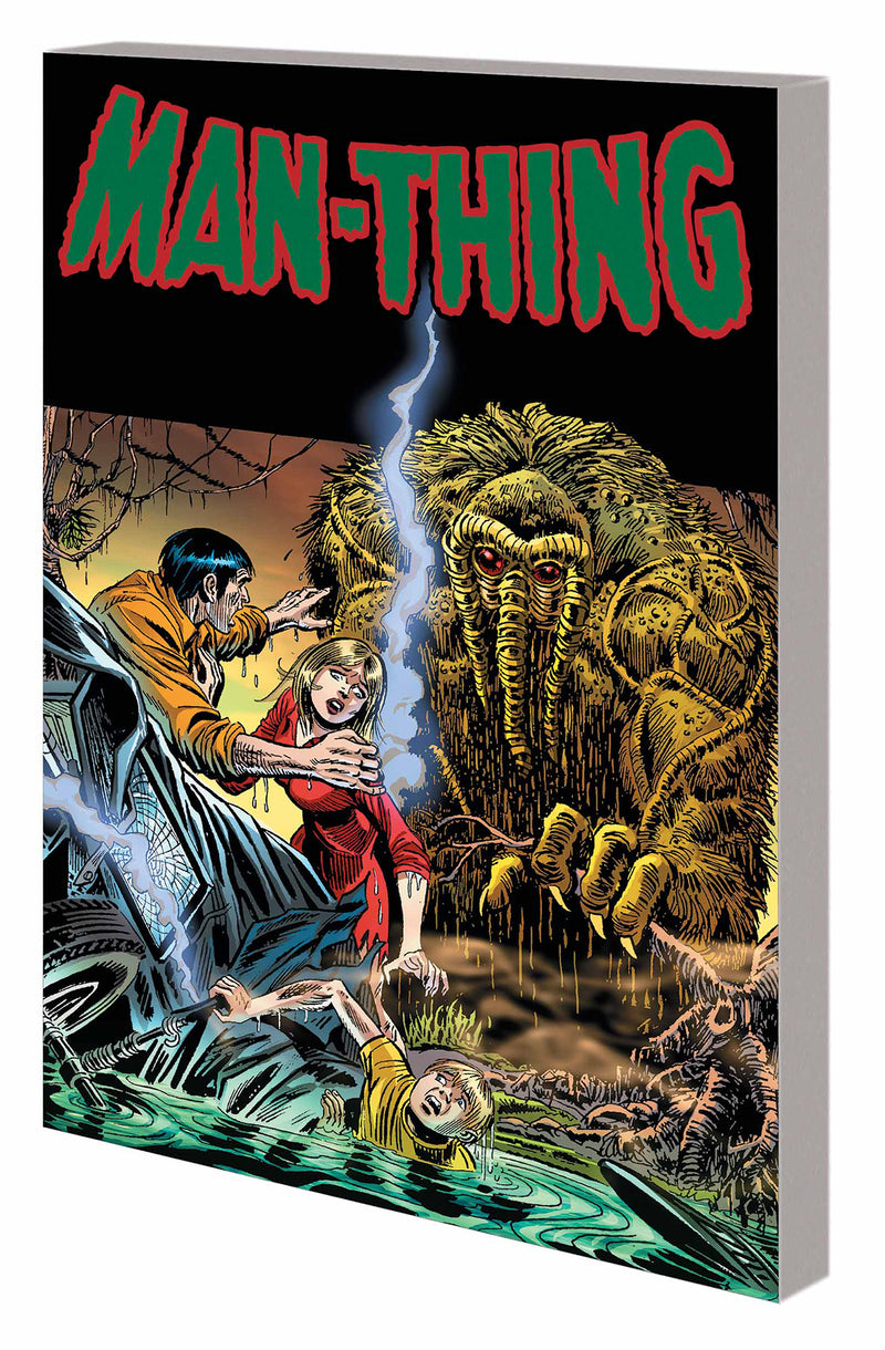 MAN THING BY STEVE GERBER COMPLETE COLL TP VOL 01