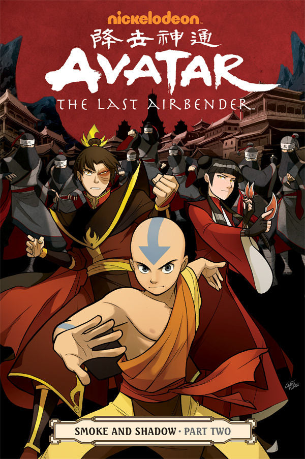 AVATAR LAST AIRBENDER TP VOL 11 SMOKE & SHADOW PART 2 (C: 1-