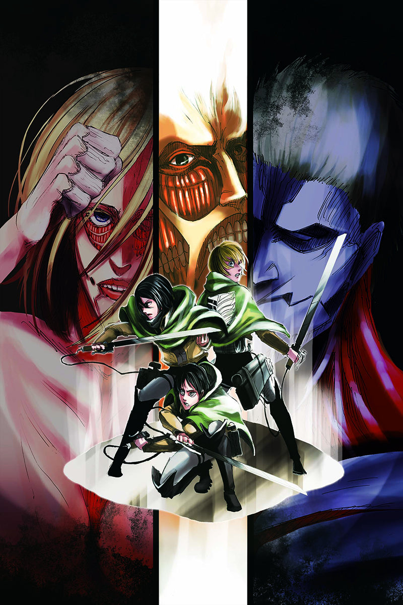 ATTACK ON TITAN GN VOL 17 (C: 1-1-0)