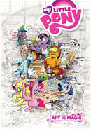 MY LITTLE PONY ART IS MAGIC TP