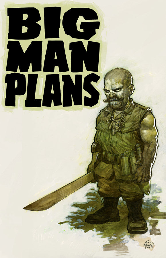 BIG MAN PLANS TP (MR)