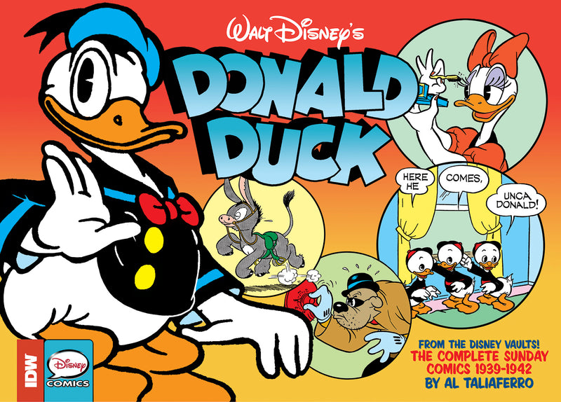 WALT DISNEY DONALD DUCK SUNDAY NEWPAPER COMICS HC VOL 01