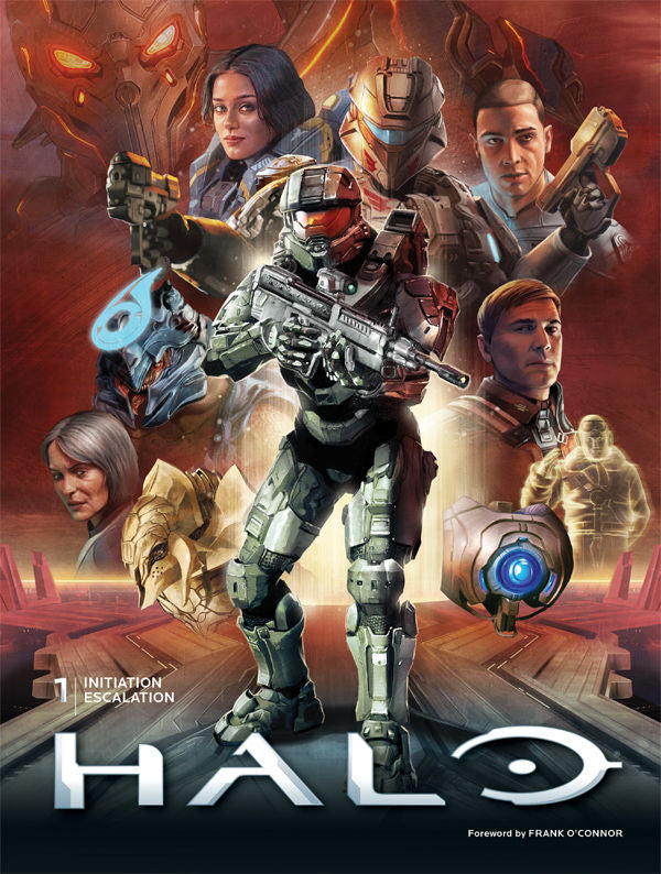 HALO LIBRARY ED HC VOL 01