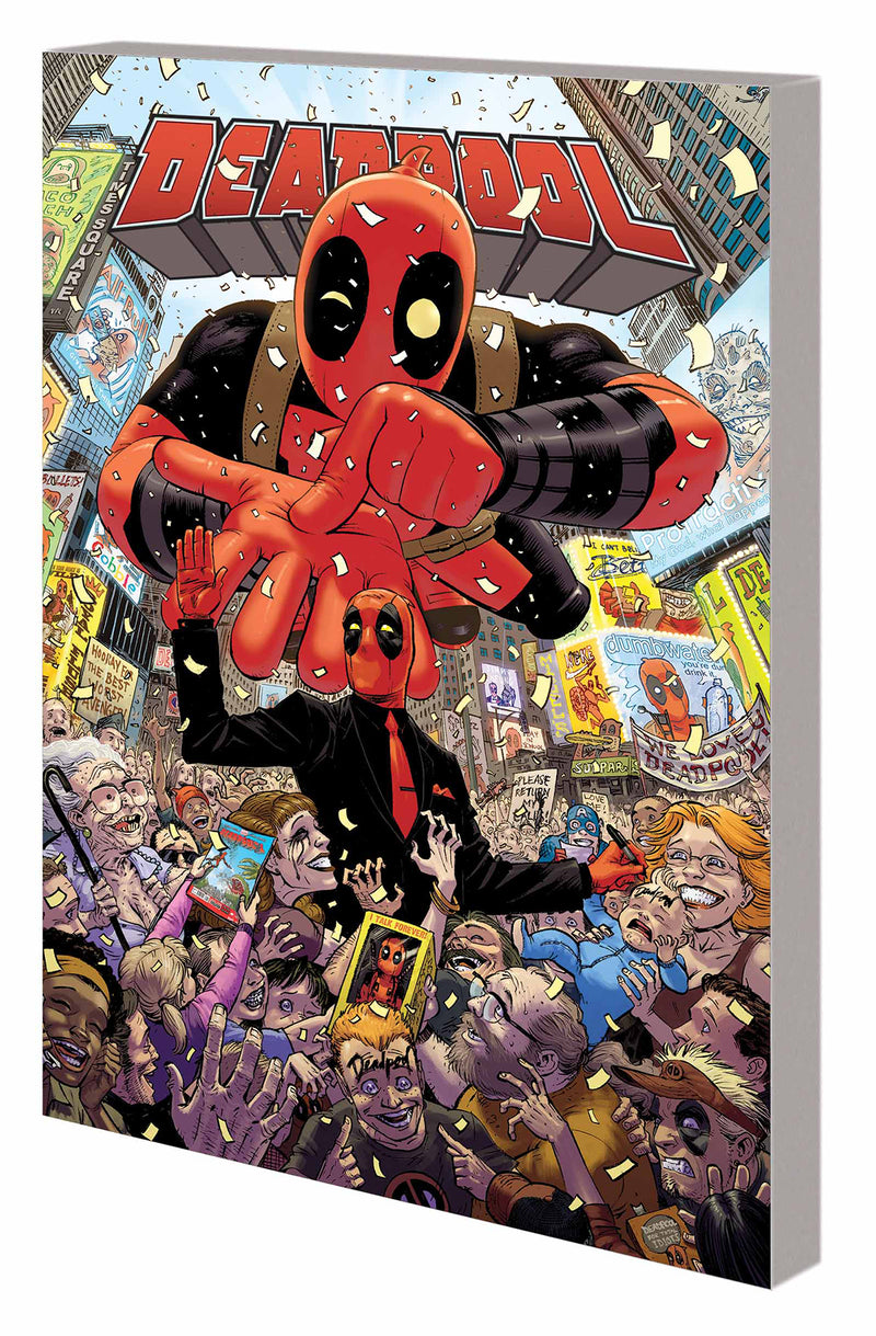 DEADPOOL WORLDS GREATEST TP VOL 01 MILLIONAIRE WITH MOUTH