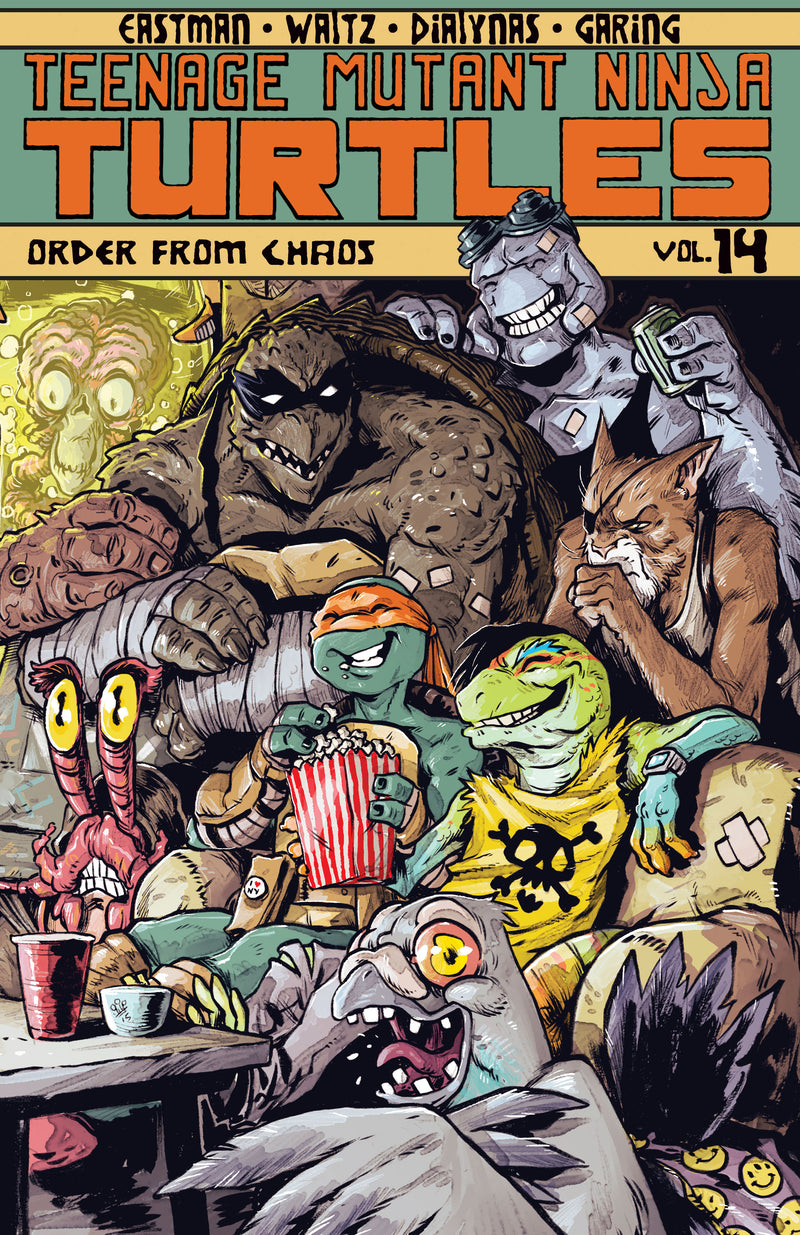 TMNT ONGOING TP VOL 14 ORDER FROM CHAOS (C: 1-0-0)