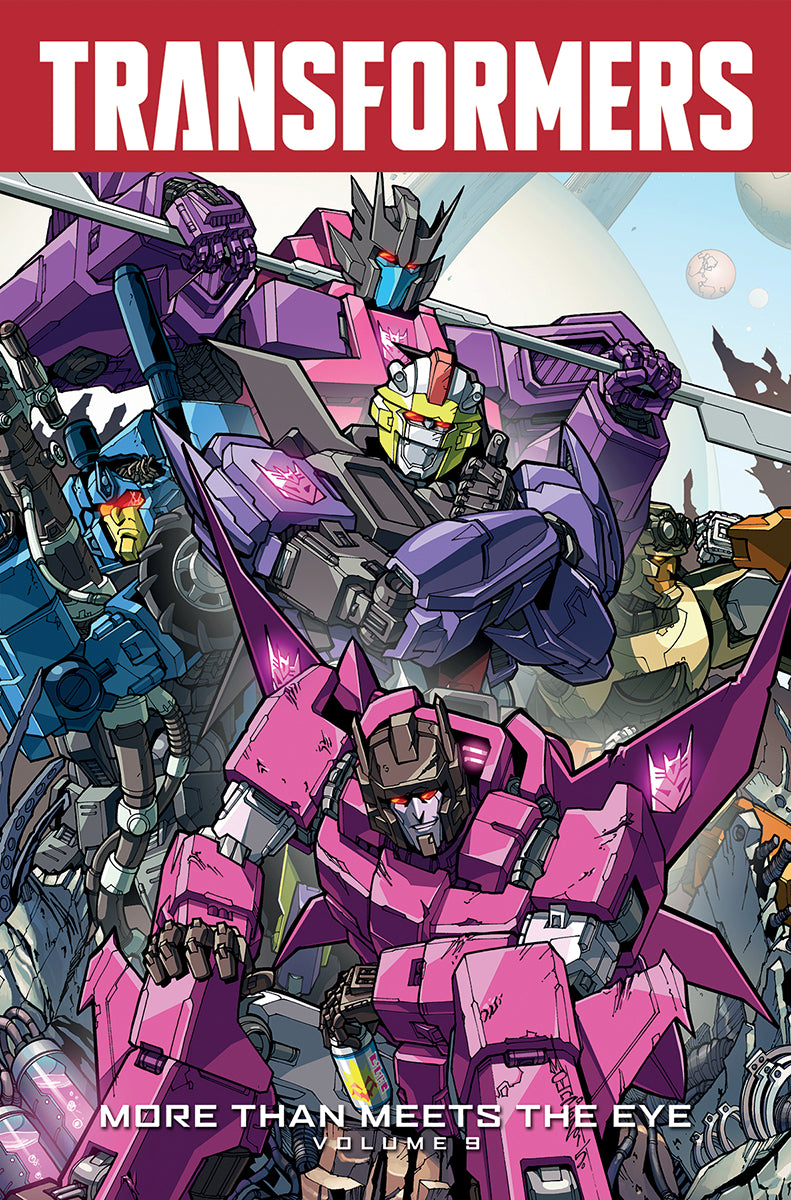 TRANSFORMERS MORE THAN MEETS THE EYE TP VOL 09
