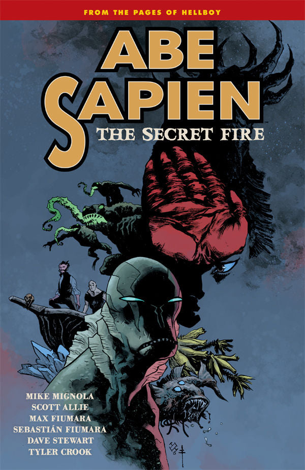 ABE SAPIEN TP VOL 07 SECRET FIRE (C: 0-1-2)