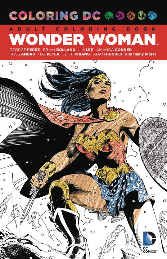 COLORING DC WONDER WOMAN TP