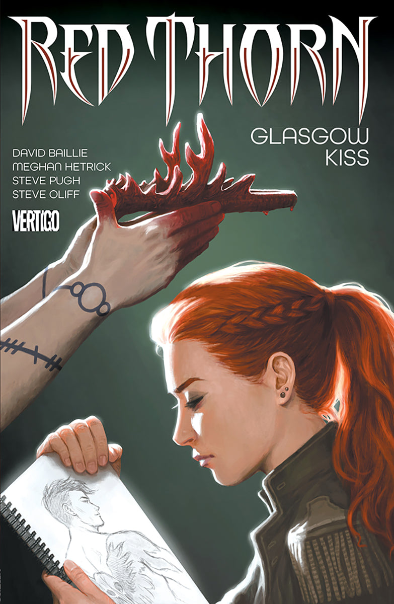 RED THORN TP VOL 01 GLASGOW KISS (MR)
