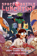 SPACE BATTLE LUNCHTIME TP VOL 01 LIGHTS CAMERA SNACKTION