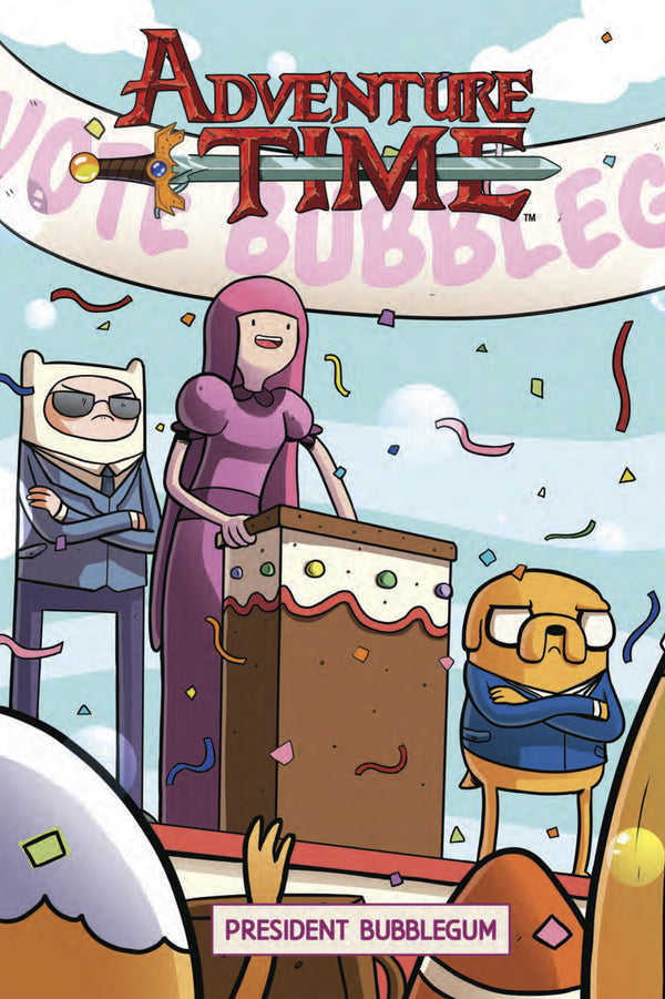 ADVENTURE TIME ORIGINAL GN VOL 08 PRESIDENT BUBBLEGUM C 1-
