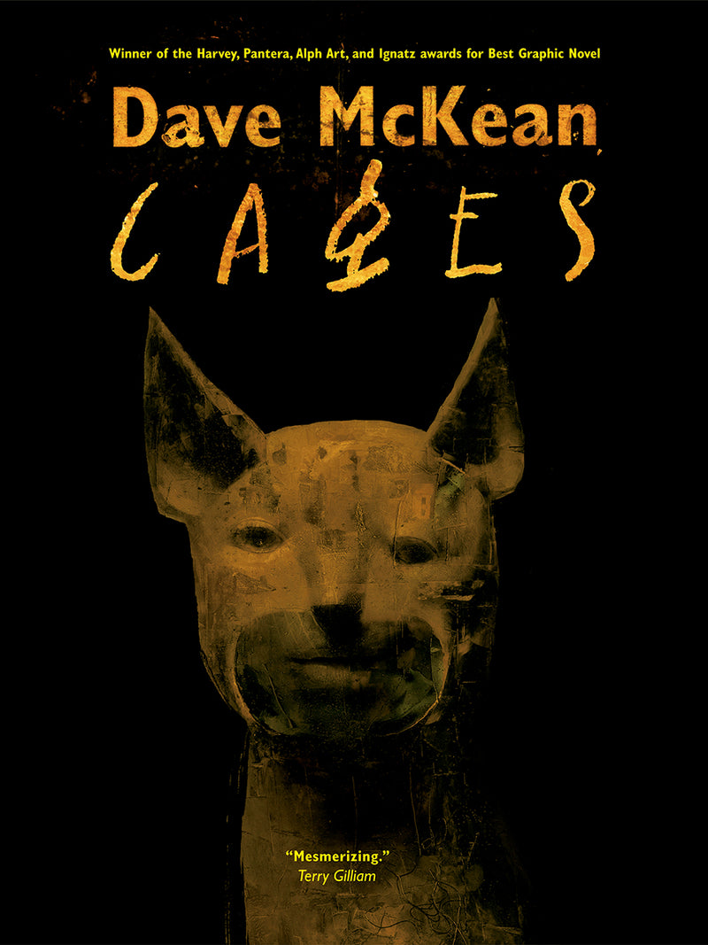 DAVE MCKEAN CAGES TP 2ND ED C 0-1-2