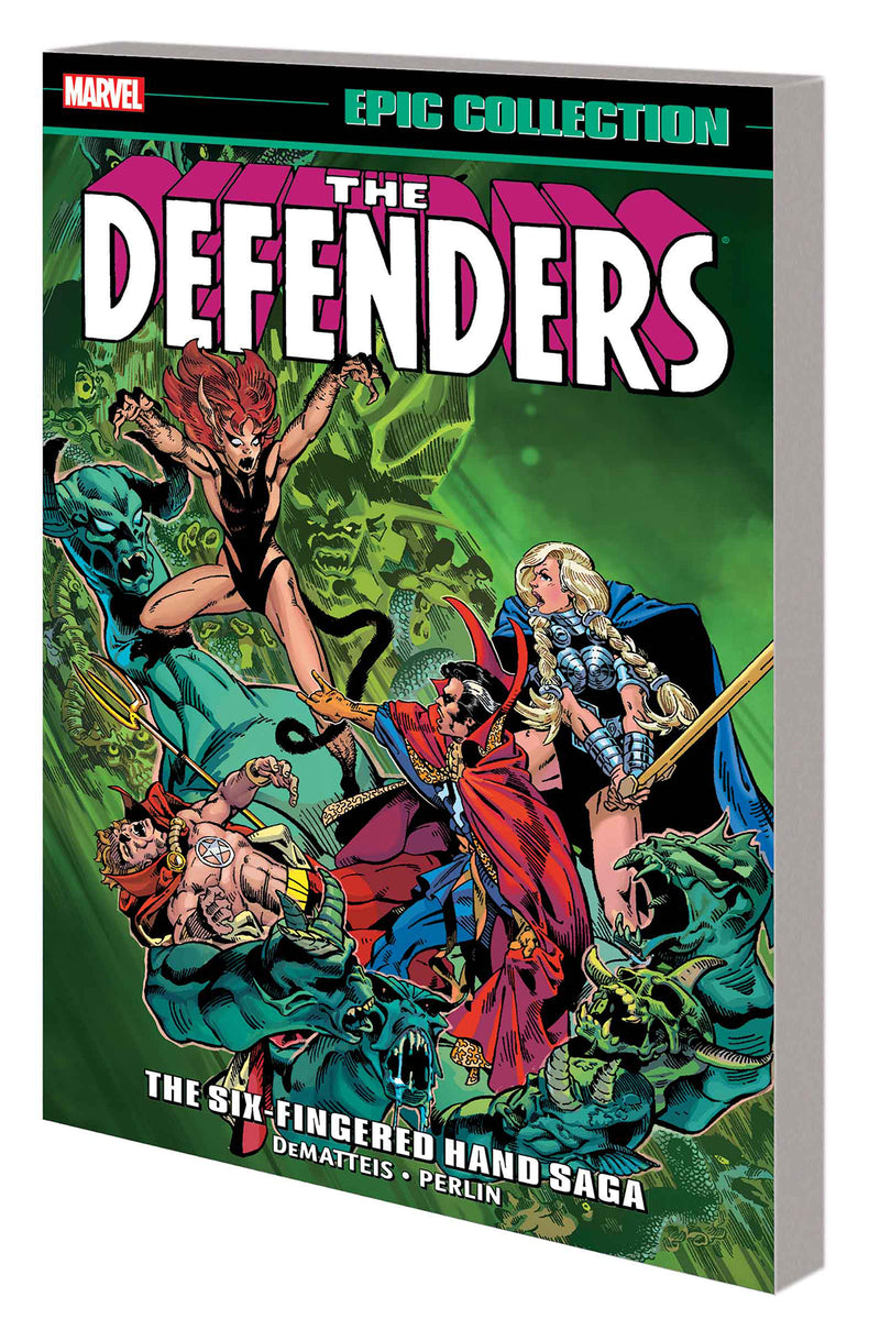 DEFENDERS EPIC COLLECTION TP SIX-FINGERED HAND SAGA