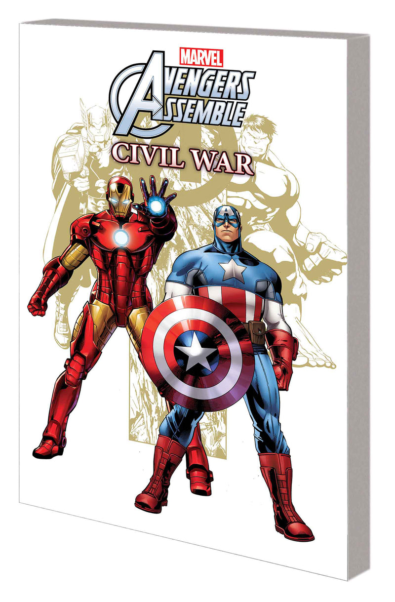 MARVEL UNIVERSE AVENGERS ASSEMBLE CIVIL WAR DIGEST TP