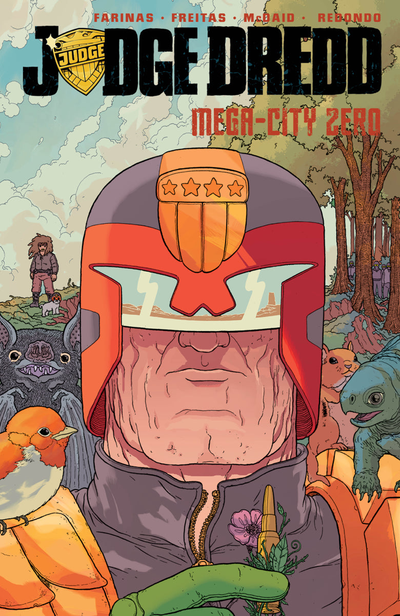 JUDGE DREDD MEGA-CITY ZERO TP VOL 02