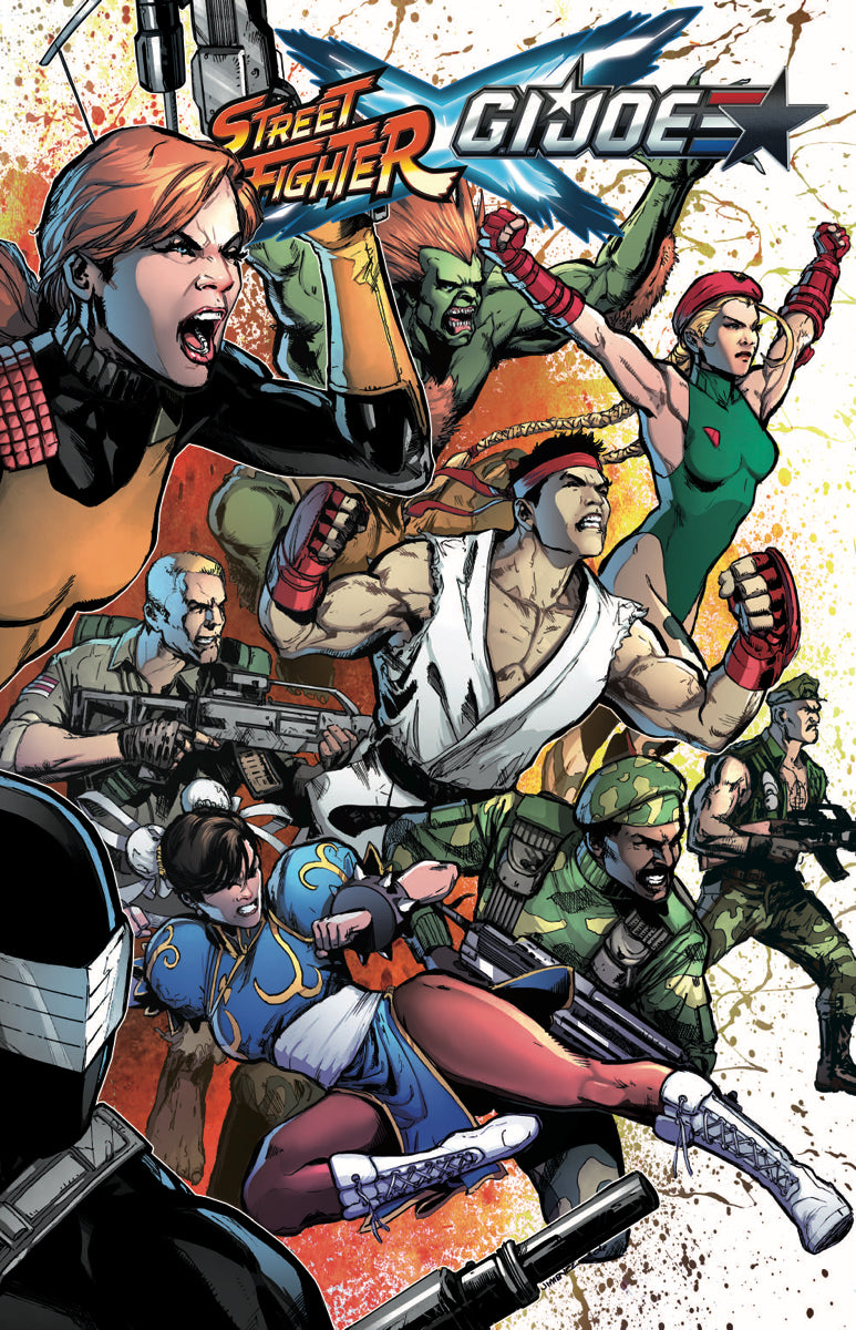 STREET FIGHTER X GI JOE TP