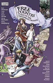 FREE COUNTRY A TALE OF THE CHILDRENS CRUSADE TP (MR)