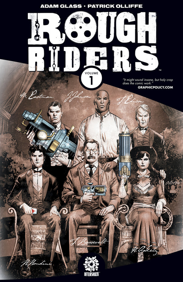 ROUGH RIDERS TP VOL 01