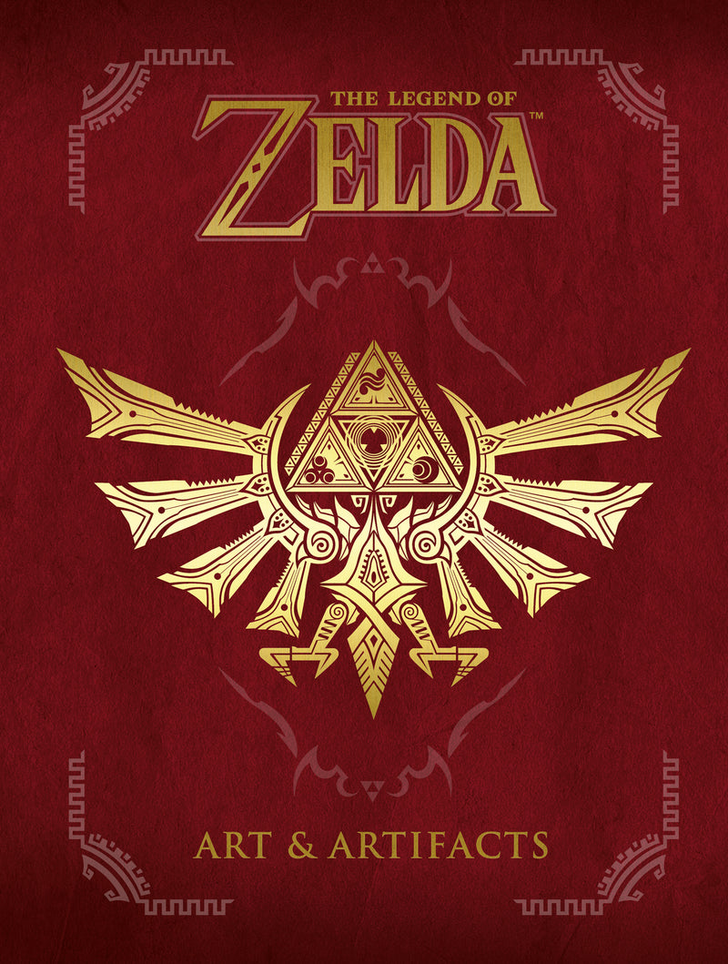 LEGEND OF ZELDA ART & ARTIFACTS HC (C: 1-1-2)