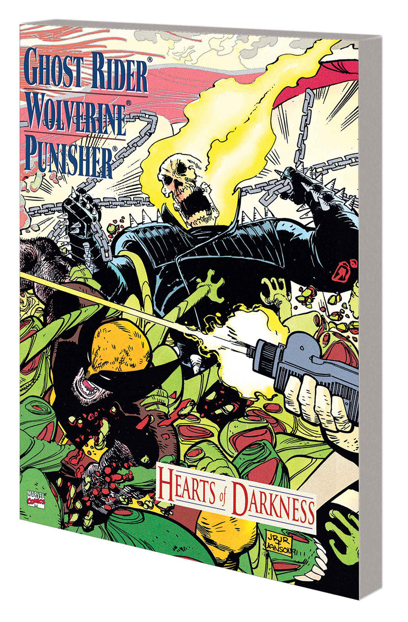GHOST RIDER WOLVERINE PUNISHER TP HEARTS OF DARKNESS