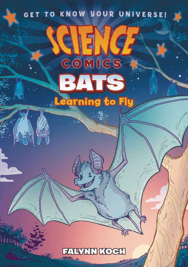 SCIENCE COMICS BATS SC GN (C: 0-1-0)