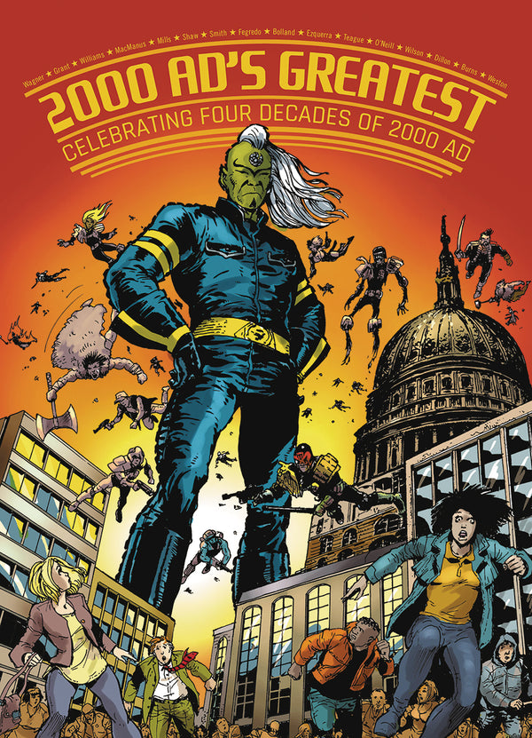 GALAXYS GREATEST FOUR DECADES OF 2000 AD TP (C: 0-0-1)