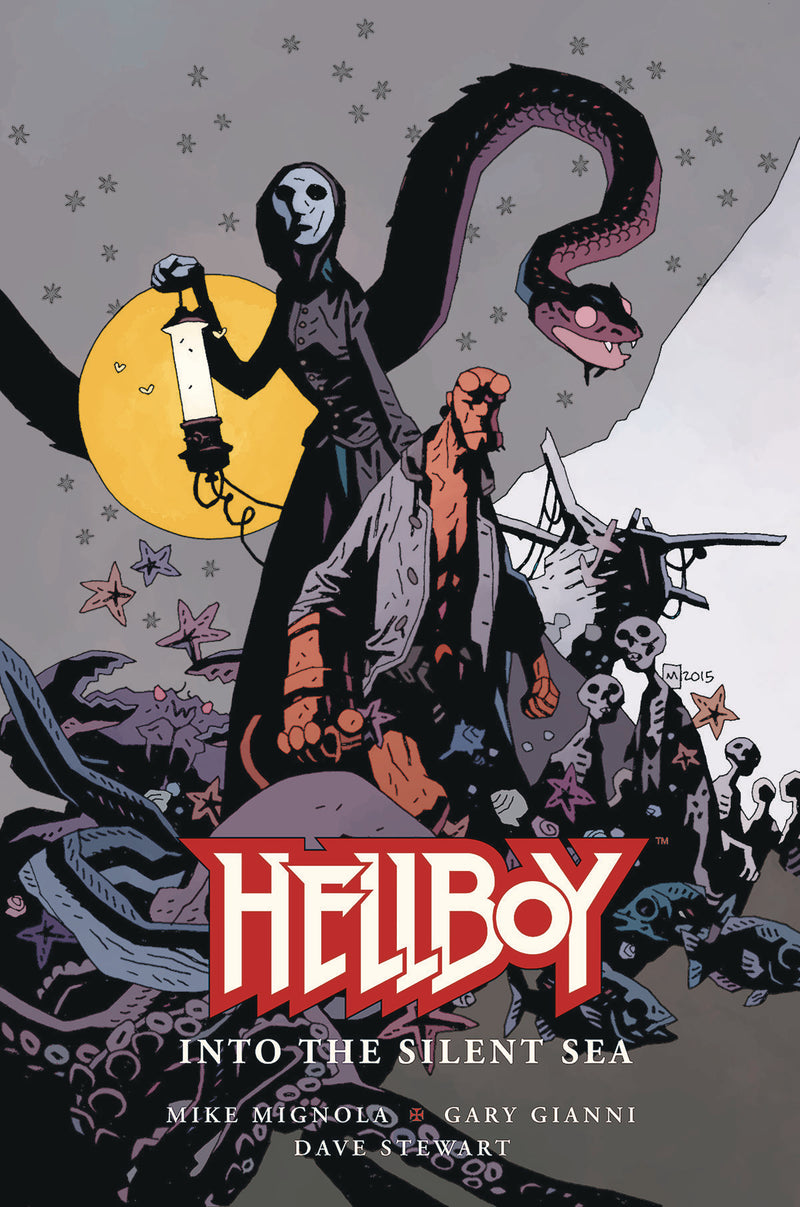 HELLBOY INTO THE SILENT SEA HC (C: 0-1-2)