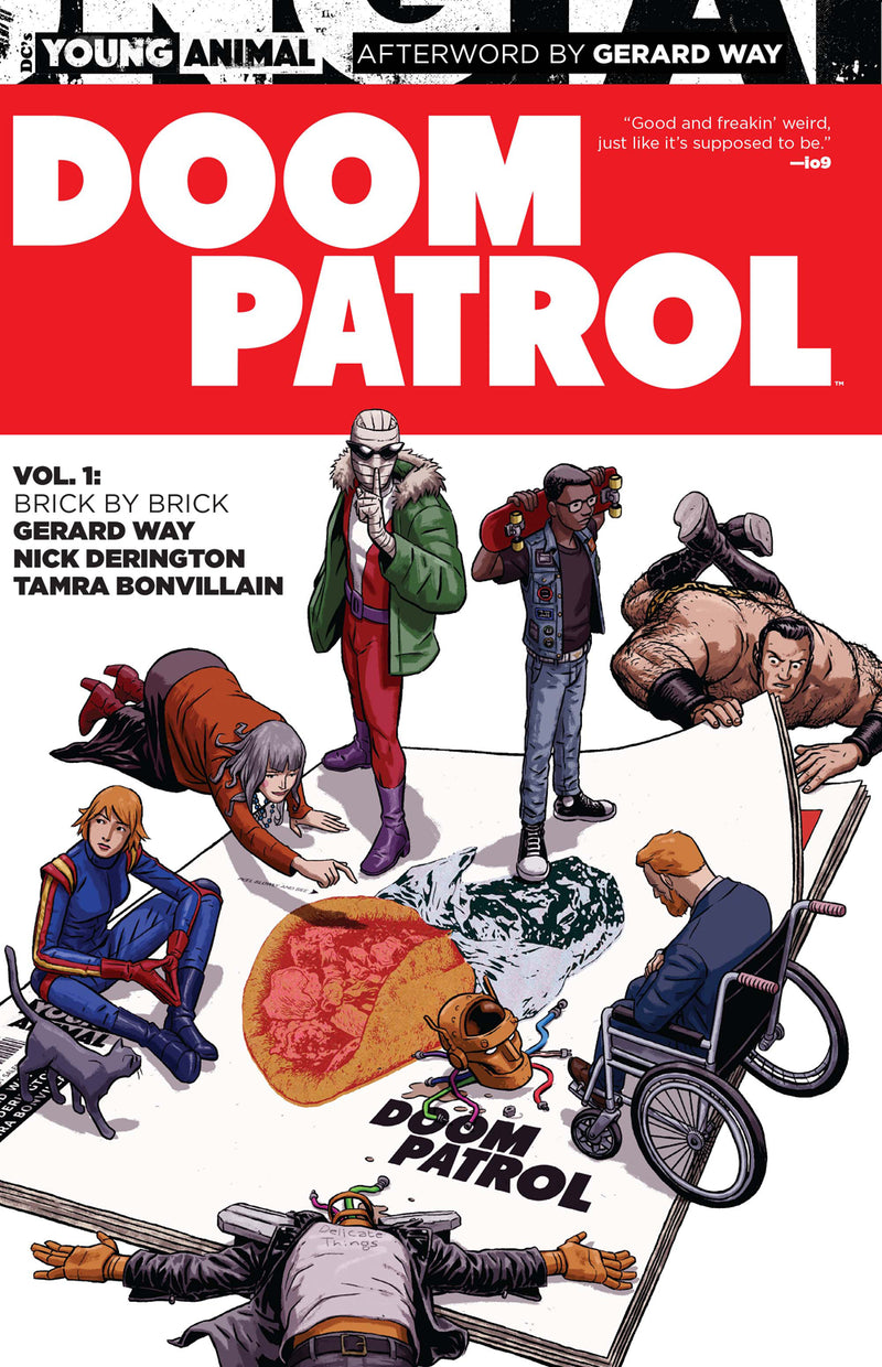 DOOM PATROL TP VOL 01 BRICK BY BRICK (MR)
