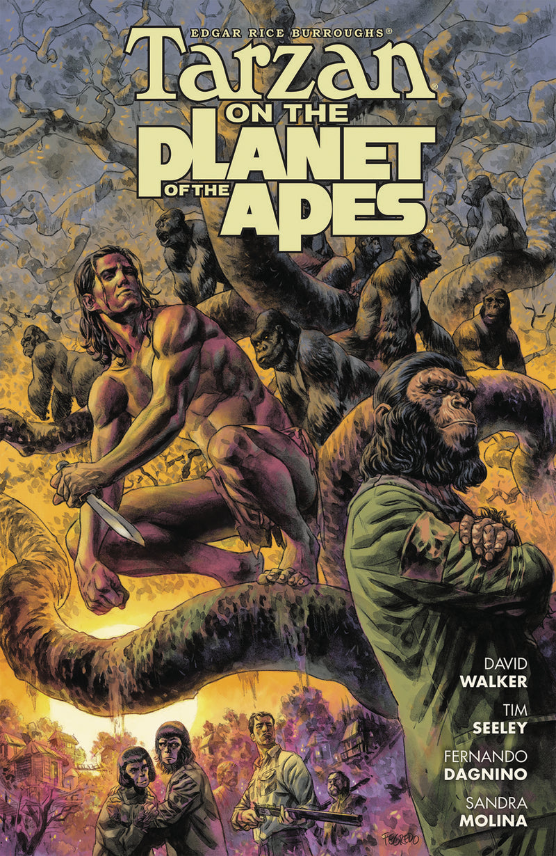TARZAN ON PLANET OF APES TP (C: 0-1-2)