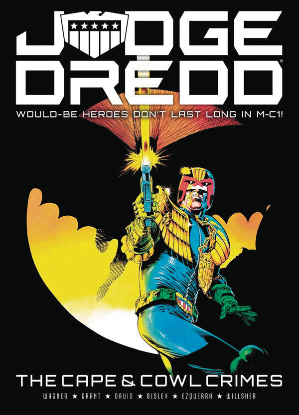 JUDGE DREDD CAPE & COWL CRIMES TP (C: 0-0-1)