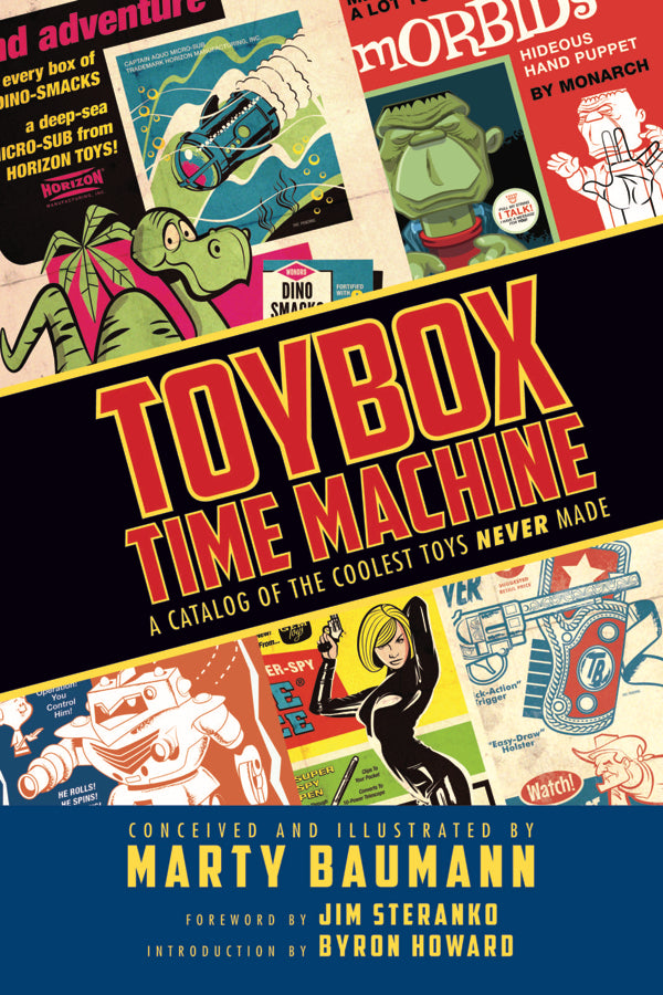 TOYBOX TIME MACHINE HC