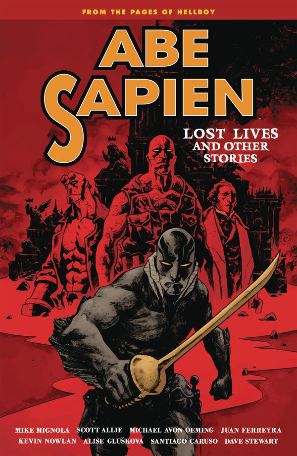 ABE SAPIEN TP VOL 09 LOST LIVES & OTHER STORIES (C: 0-1-2)