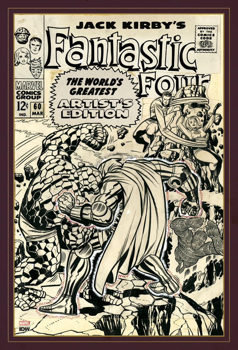 JACK KIRBY FANTASTIC FOUR WORLDS GREATEST ARTIST ED HC (C: 0