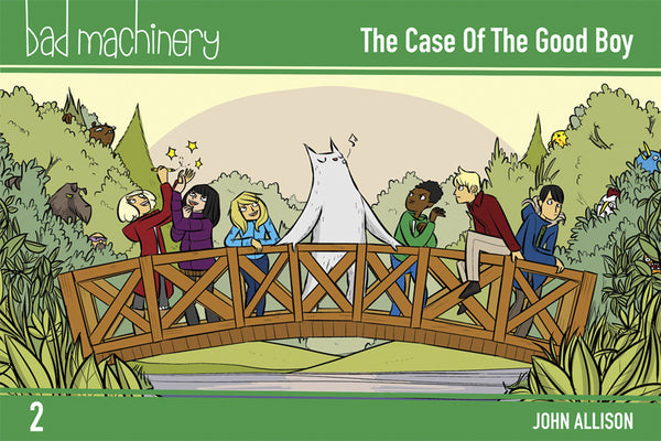BAD MACHINERY GN VOL 02 POCKET ED