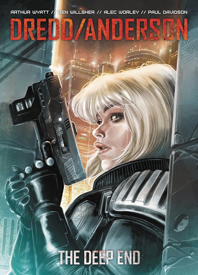 DREDD ANDERSON THE DEEP END TP (C: 0-0-1)