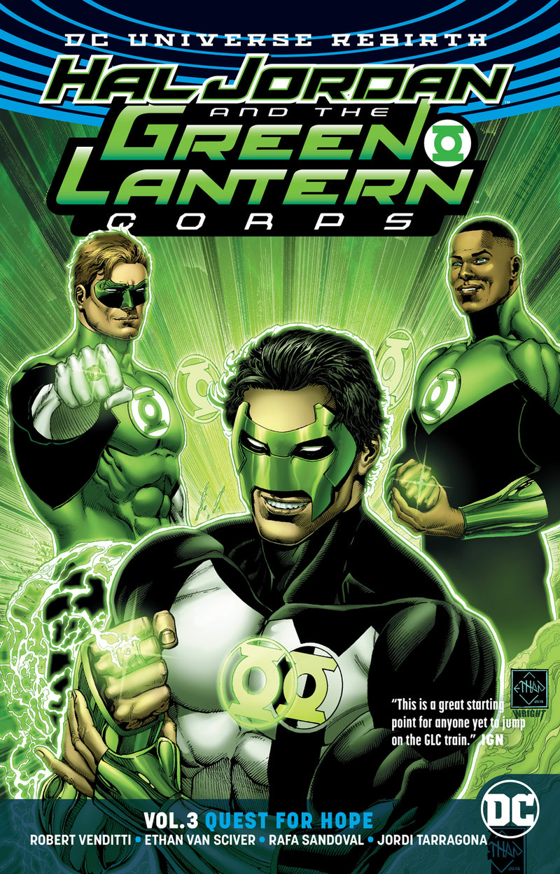 HAL JORDAN & THE GLC TP VOL 03 QUEST FOR HOPE (REBIRTH)
