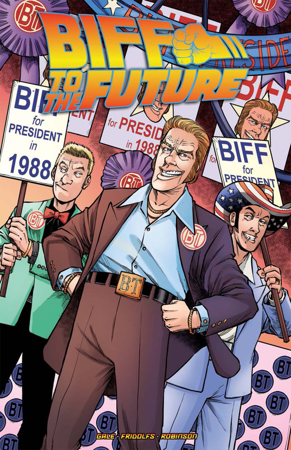 BACK TO THE FUTURE BIFF TO THE FUTURE TP