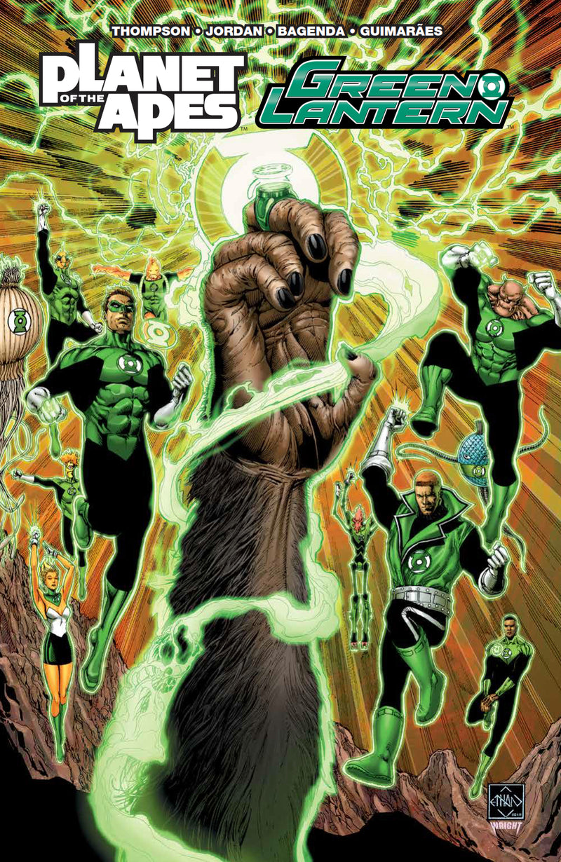 PLANET OF APES GREEN LANTERN TP (C: 0-1-2)
