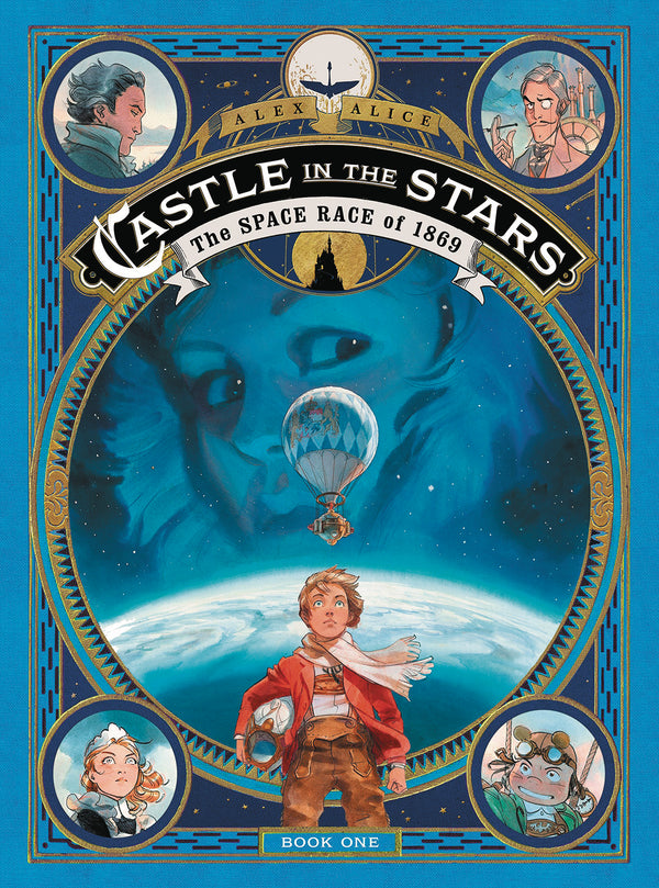 CASTLE IN THE STARS SPACE RACE OF 1869 HC GN (C: 1-1-0)