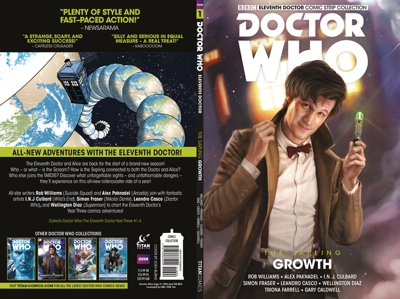 DOCTOR WHO 11TH SAPLING TP VOL 01 GROWTH