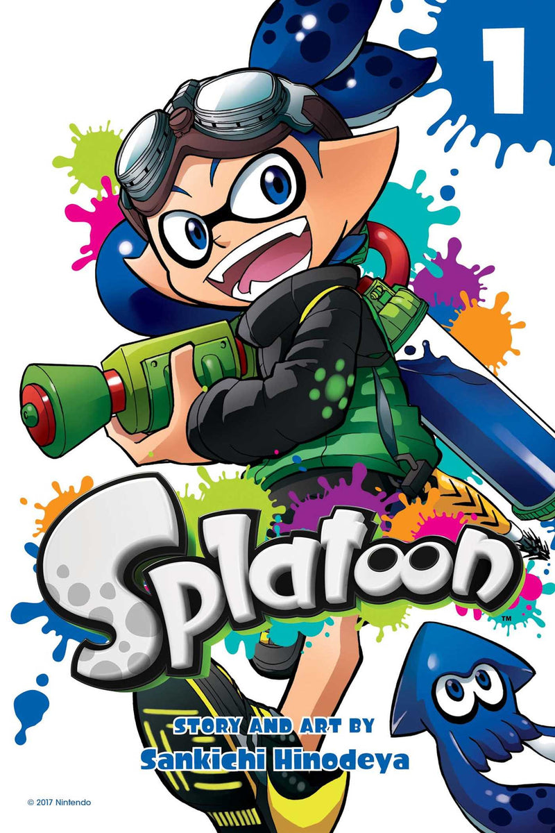 SPLATOON MANGA GN VOL 01 (C: 1-0-1)