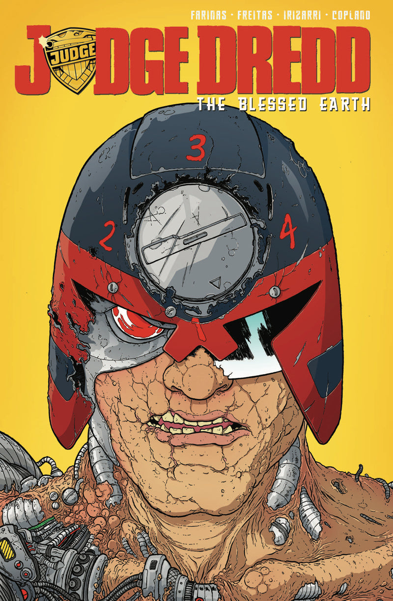 JUDGE DREDD BLESSED EARTH TP VOL 02