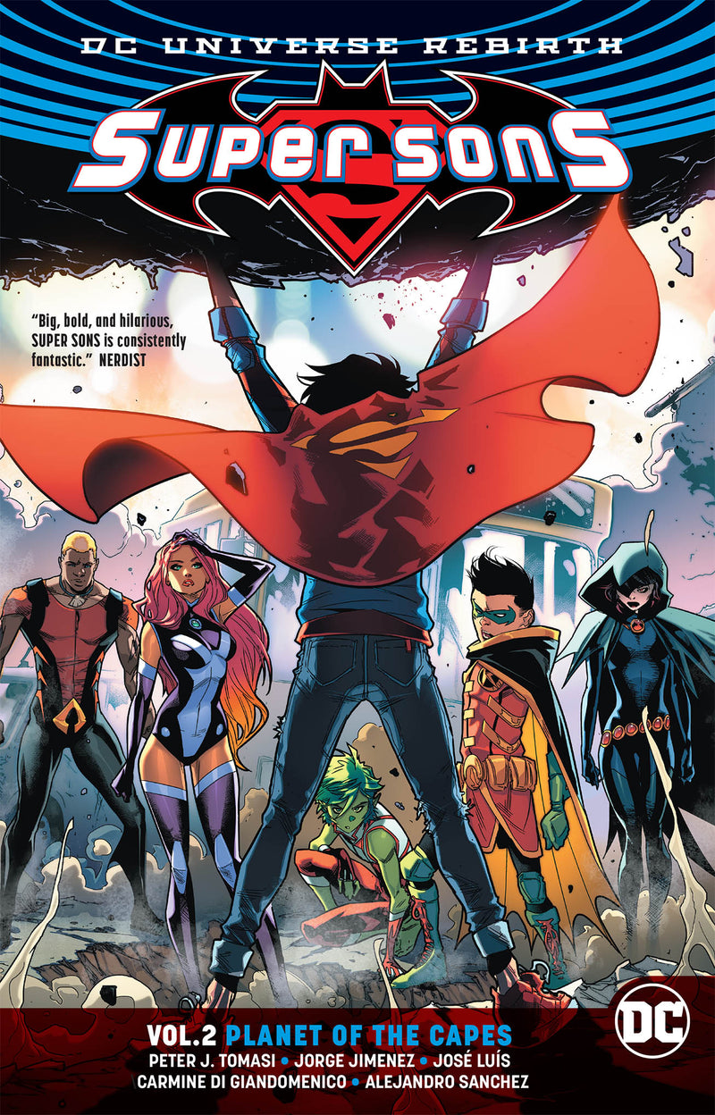 SUPER SONS TP VOL 02 PLANET OF THE CAPES REBIRTH