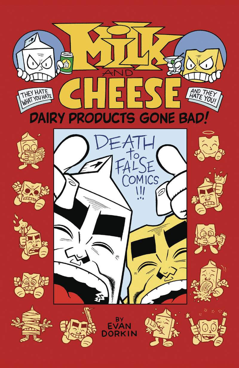 MILK & CHEESE DAIRY PRODUCTS GONE BAD TP (C: 0-1-2)
