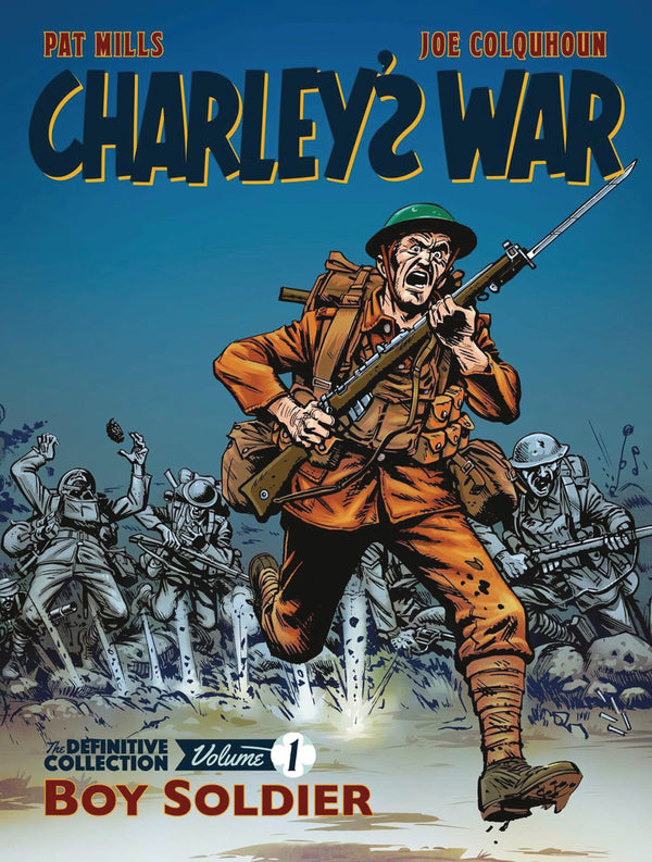 CHARLEYS WAR DEFINITVE COLL TP VOL 01 BOY SOLDIER (C: 0-1-1)