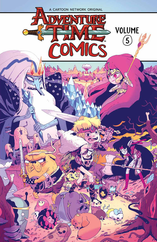 ADVENTURE TIME COMICS TP VOL 05 (C: 1-1-2)